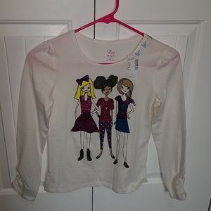Children's Place Long Sleeve Shirts (2) L 10/12